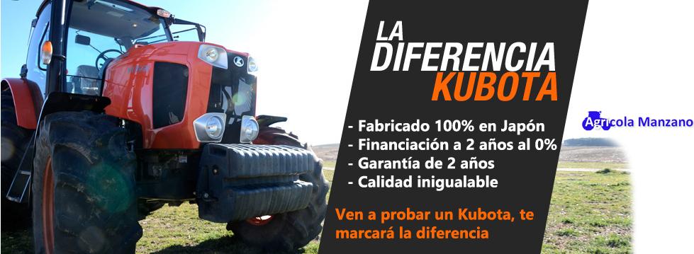 Kubota es la diferencia