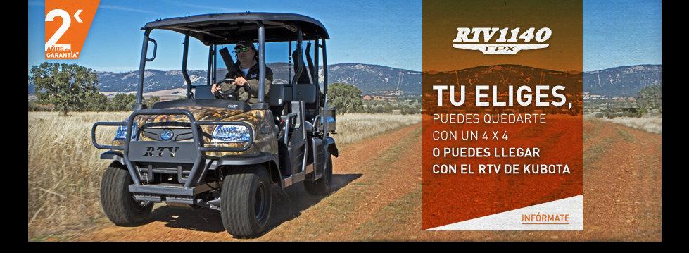 Ni 4×4, motor o ATV…Kubota RTV 1140…para todos
