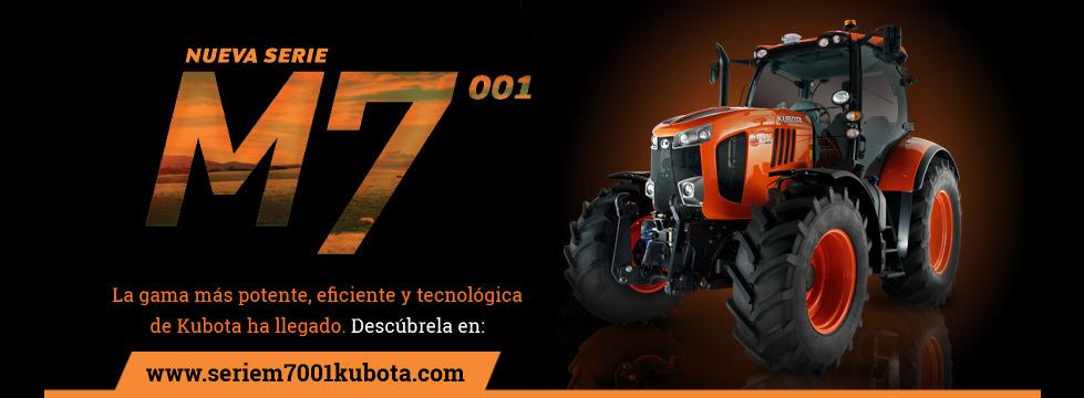 Nueva serie M7 Kubota ya a tu alcance